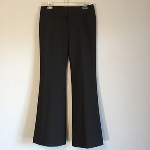 Express Flare Pants Wide Leg Slacks Gray Winter